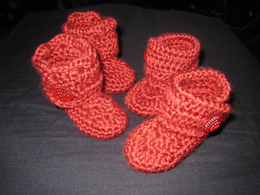 Goody Two Shoes Baby Booties