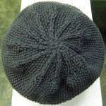 Seed Stitch Beanie Detail