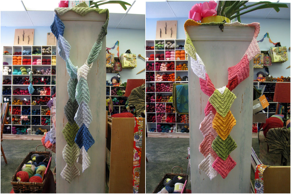 When I Think Of You Scarf:Pattern