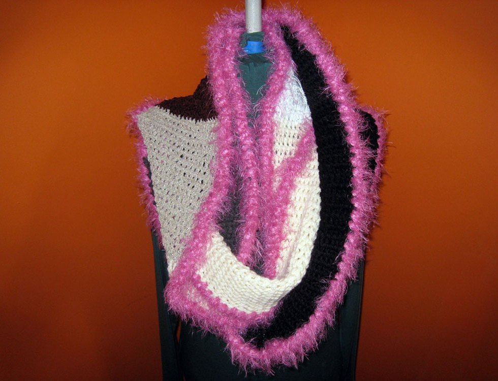 Natural High Mobius Cowl