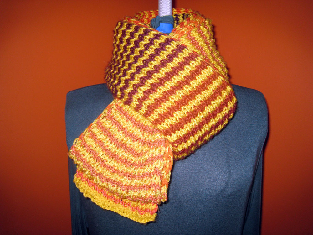 Always The Sun Scarf: Sunset