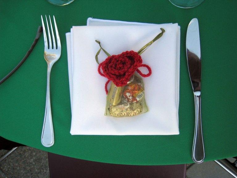 Rosy Wedding Favor