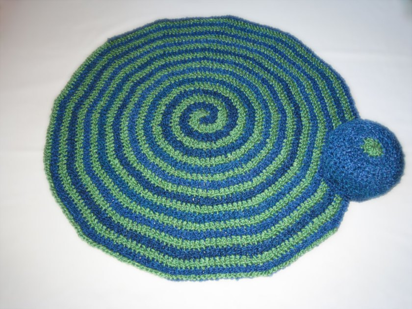 I Had A Dream I Was Falling Through A Hole In The Ozone Layer Baby Afghan &Hat