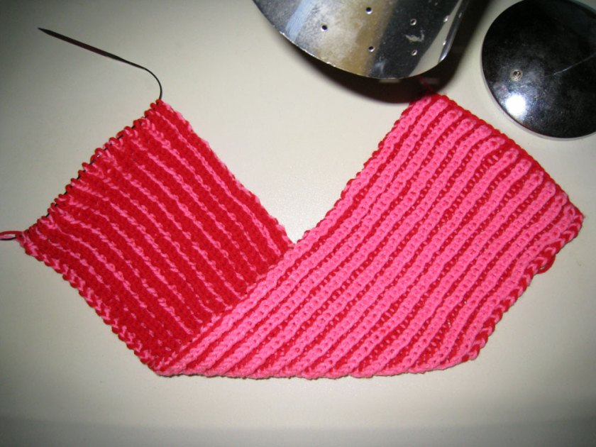 Basic Two-Color Brioche Knit