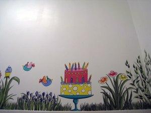 Bathroom Mural