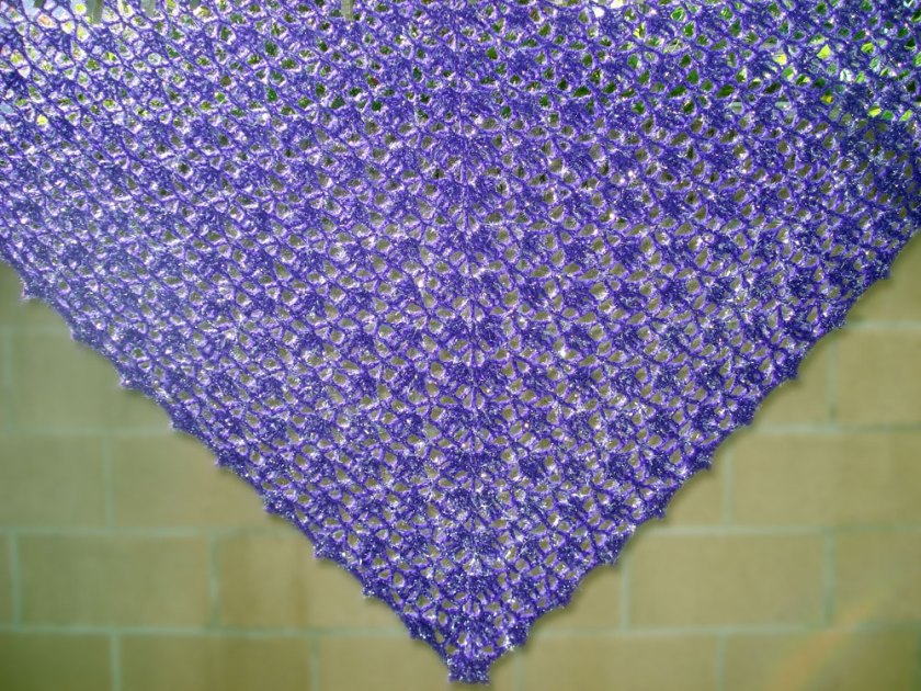 Grape Soda Shawl