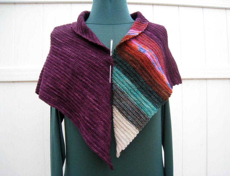 Get The Balance Right Shawl (Front)