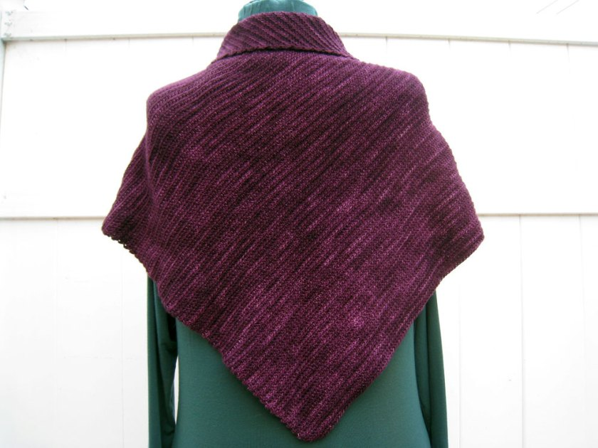 Get The Balance Right Shawl (Back)