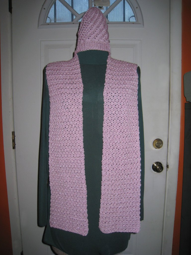 Pink Moon Hat/Scarf