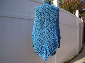 Mar Azul Shawl