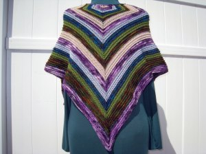 Crooked Teeth Shawl