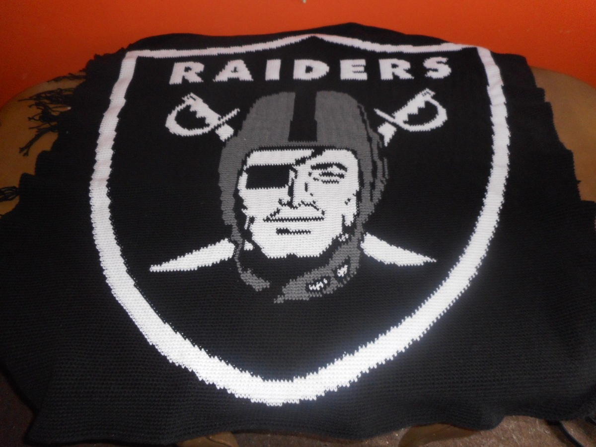 Oakland Raiders Afghan II