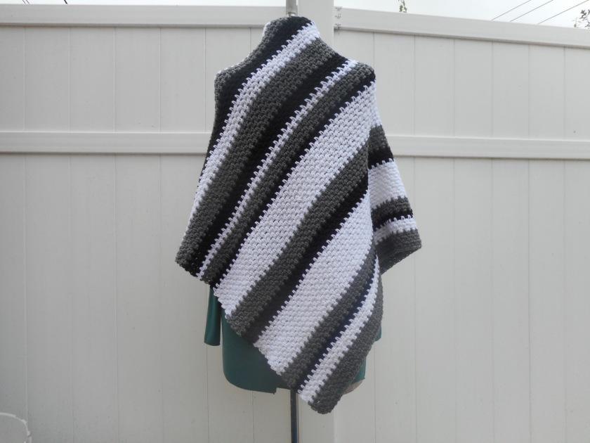 Black and White Shawl