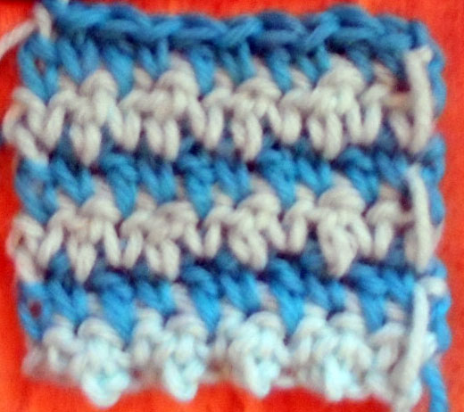 Crochet Granite Stitch