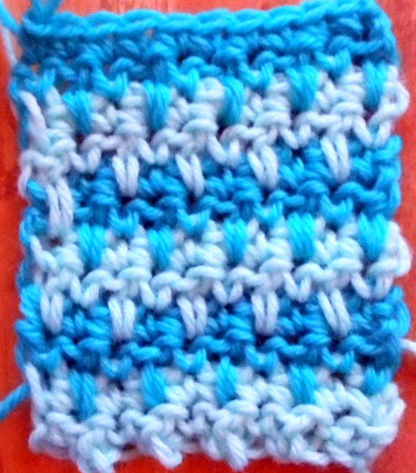 Modified Crochet Houndstooth