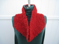 If Love Is a Red Dress (Hang Me in Rags) Cowl