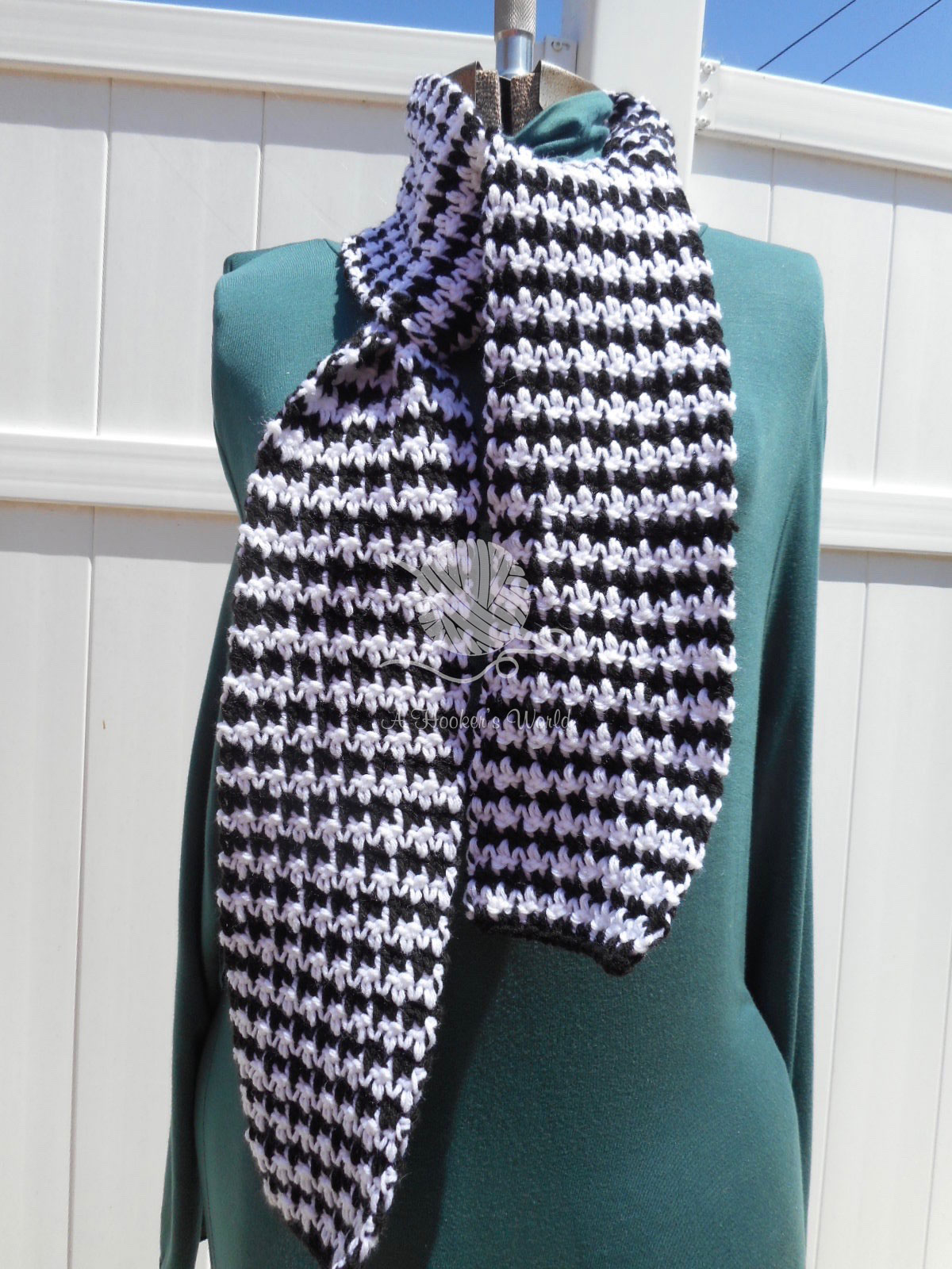 Black or White Scarf