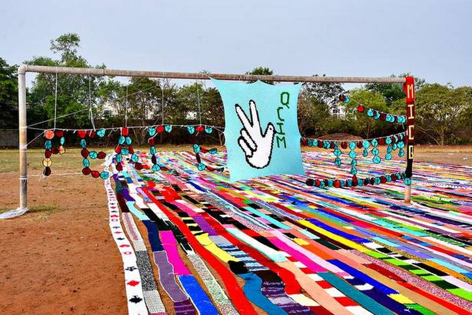 """Mumbai women crochet their way into the record books"""