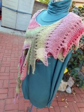 Strawberry Fields Forever Water Dragon Shoulder Wrap