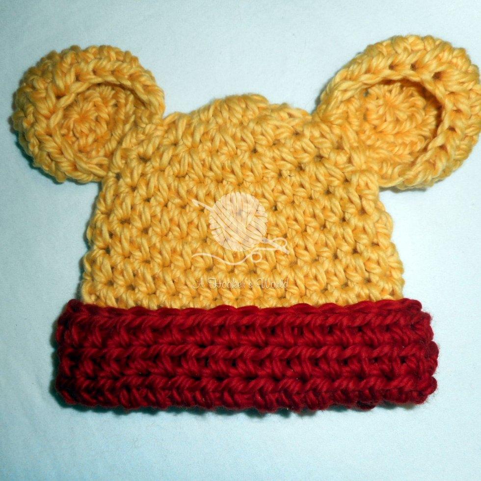 Winnie The Pooh Newborn Beanie