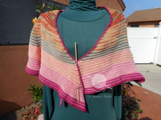 No Strings (I'm Fancy Free) Shawl