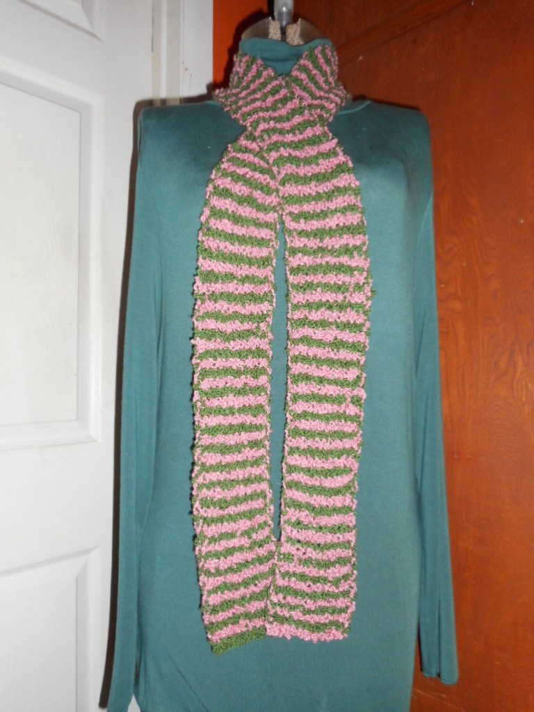 Green Onions Scarf