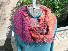 Red Blooded Woman Cowl