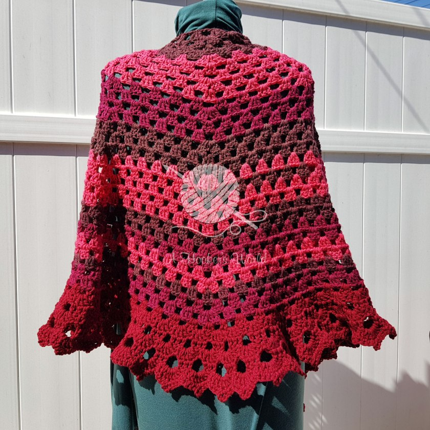 Brick By Boring Brick Shawl