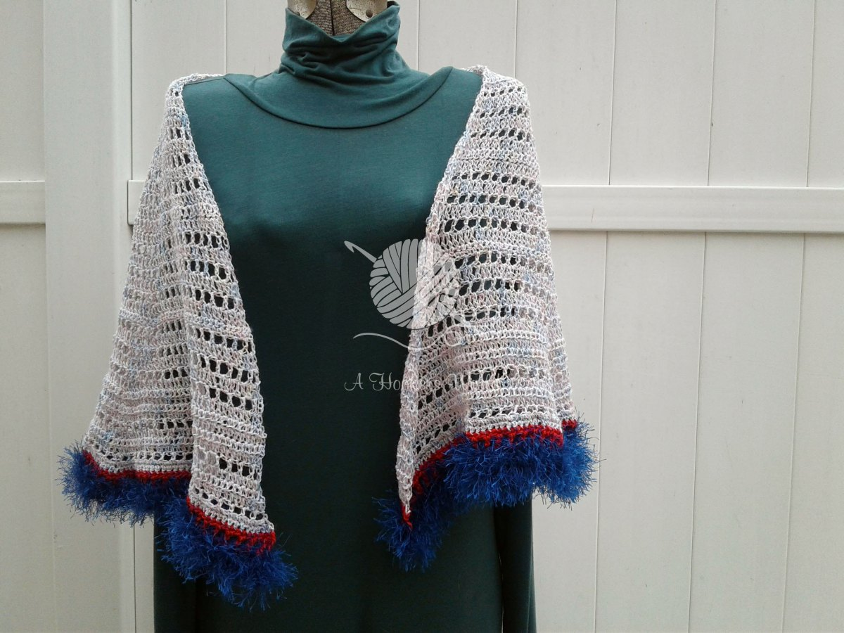 Domino Dancing Shawl