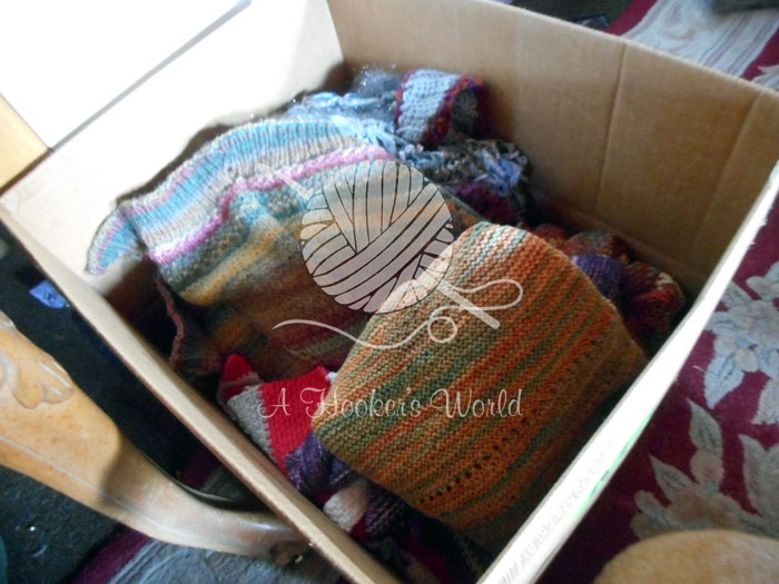 Charity Donations: Shawls