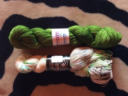 Dream Color To Life Smooshy with Cashmere & Stitch Together Studio Yarns