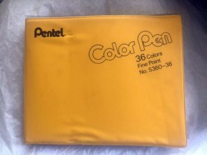 Pentel Color Pen CLOSED